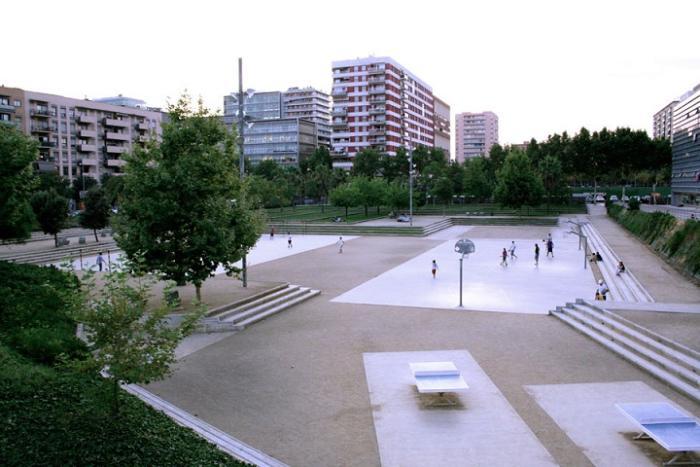 Y BarcelonaParque Jardin Diagonal MarPasajismo OXkZiuwPT