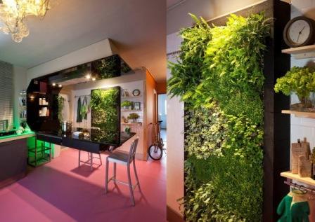 Sistemas de jardines verticales 2 pasajismo y jardin for Historia de los jardines verticales